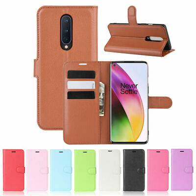 AU10.50 • Buy For OnePlus 8 7T Pro 6 6T Magnetic Flip PU Leather Wallet Card Stand Case Cover