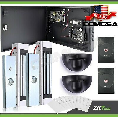 AU458.79 • Buy Access Control 2 Door Zkteco, C3 200 Door Entry System Kit ZK, Exit Montion.USA