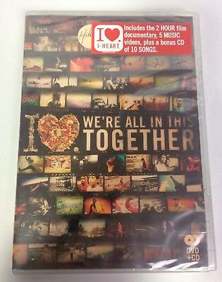 $12.97 • Buy Hillsong United-The I Heart Revolution:We're All In This Together DVD + CD (NEW)
