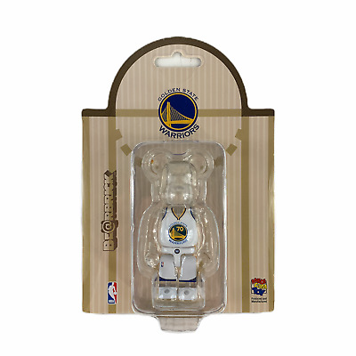 $69 • Buy NBA Warriors Bearbrick 100% Golden State Warriors GSW Medicom Be@rbrick