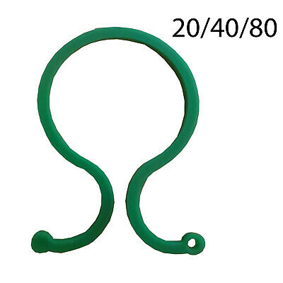 £3.99 • Buy GARDEN RING TIE CLIPS Plant Support Ties Flower Supports Greenhouse (EP04)