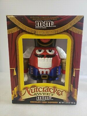 $15.68 • Buy MM M&M RED Nutcracker Sweet Candy Dispenser Limited Edition No Candy Included