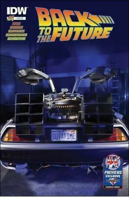 £7.95 • Buy Back To The Future #1 Previews Exclusive  (2016)vf/nm Idw