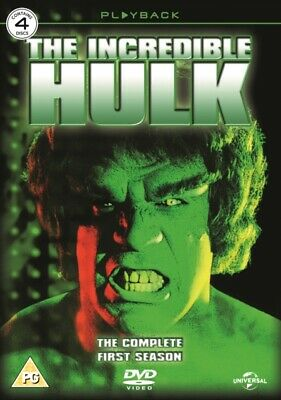 The Incredible Hulk Complete First Season DVD *NEW & SEALED* • 7.97£