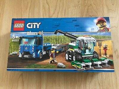 £37.95 • Buy LEGO City Harvester Transport 60223 BRAND NEW Sealed Box FREE Signed Delivery
