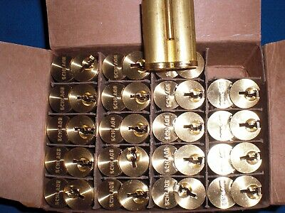 $20 • Buy SCHLAGE 80-036-B123-606 Everest Brass 7-Pin Uncombinated Core FOR BEST LOCK SFIC