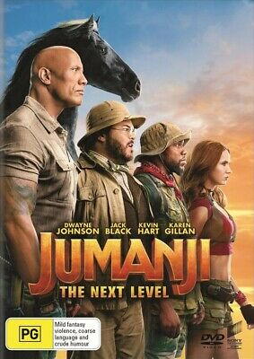 AU13.05 • Buy Jumanji: The Next Level (DVD, 2020)