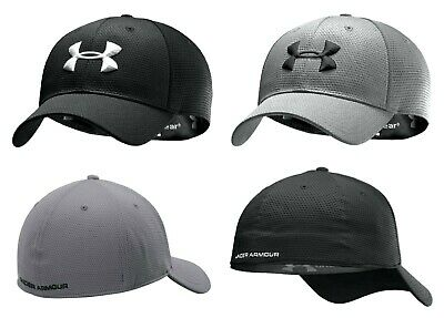 Under Armour Mens UA Blitzing II Stretch Fit Breathable Baseball Cap Golf Hat • 14.99£