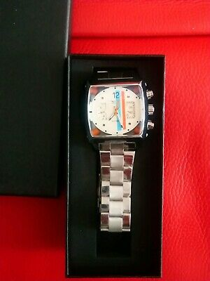 Mens Watch Motorsport Motor Racing Steve McQueen Le Mans Monaco Race Style Retro • 55£