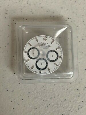 $ CDN4831.40 • Buy Rolex White Swiss Made Sealed New Dial For Daytona 16520 Watch