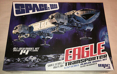 $44.95 • Buy MPC Space 1999 14  Eagle Transporter 1:72 Scale Model Kit New 913