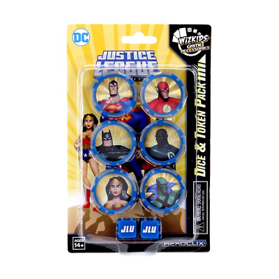 £8.55 • Buy DC HeroClix Justice League Unlimited Dice And Token Pack