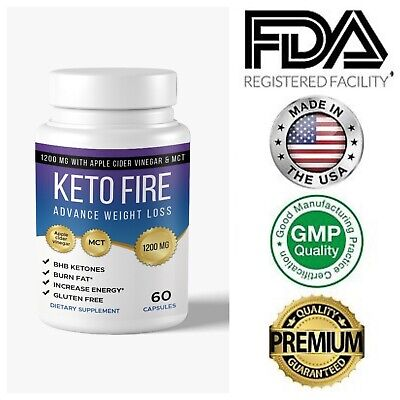 $12.99 • Buy Keto Diet Pills With Apple Cider Weight Loss Supplements Fat Burn & Carb Blocker