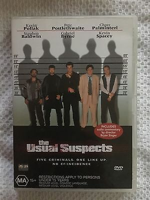 AU6.99 • Buy The Usual Suspects (dvd, 2001) Vgc - Kevin Pollak, Kevin Spacey, Gabriel Byrne