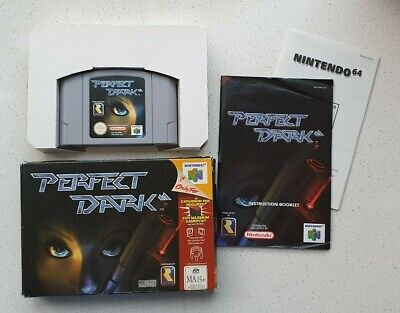 AU80 • Buy Perfect Dark Nintendo 64 N64 - AUS PAL - Complete With Box & Instructions