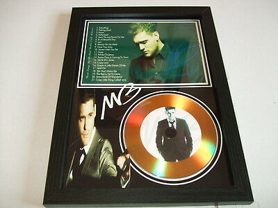 £19.98 • Buy Michael Buble  SIGNED  GOLD CD  DISC 095