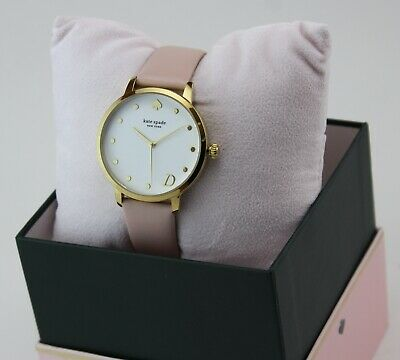 $ CDN107.25 • Buy New Authentic Kate Spade Metro D Gold Pink Leather Women's Ksw9010d Watch