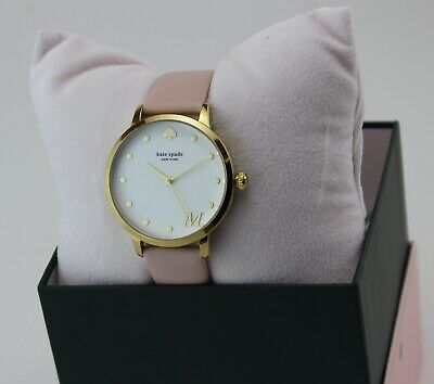 $ CDN102.06 • Buy New Authentic Kate Spade Metro M Gold Pink Leather Women's Ksw9010m Watch
