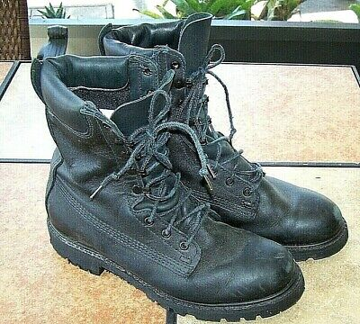 $65.90 • Buy Honeywell Leather Wildland Fire Fighter Station Duty Boots 3050B Black Mens 9.5