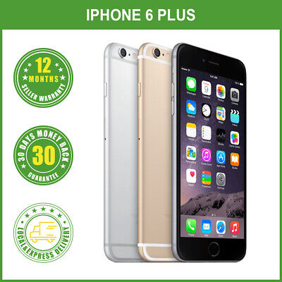 AU259.98 • Buy New Unlocked Apple IPhone 6 Plus 64GB/128GB Mobile Phone LOCAL DELIVERY
