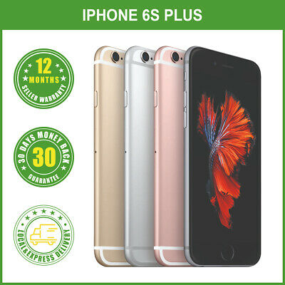 AU345 • Buy New Unlocked Apple IPhone 6S Plus+ 64/128GB Mobile Phone Gifts LOCAL DELIVERY