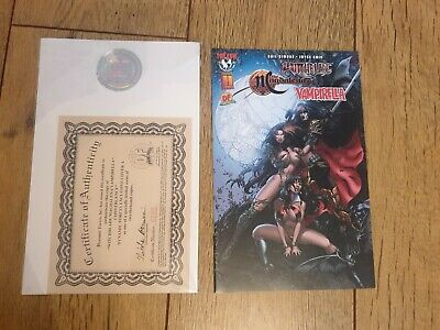 £9.99 • Buy Witchblade Magdalena Vampirella Dynamic Forces Top Cow COA Limited Edition Comic