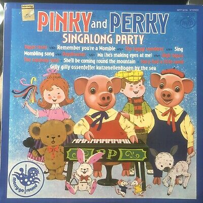 Pinky And Perky Singalong Party Vinyl Recrod • 10£