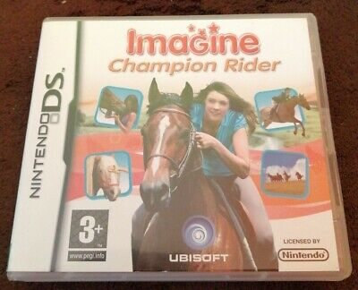 Nintendo Ds Game Imagine Champion Rider Complete Manual Nice Condition 3+  • 5.99£