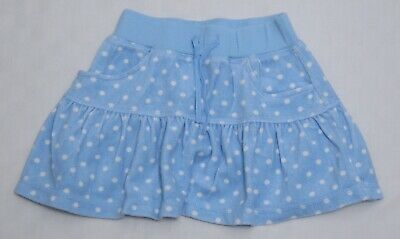 Gorgeous Girls Blue Polka Dot Towelling Skirt By John Lewis Age 3-4 • 4£