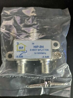 AU6 • Buy HIP-2H: 2 Way TV Antenna Splitter 5-1000 Mhz