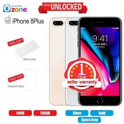 AU752.95 • Buy New Factory Unlocked APPLE IPhone 8Plus+ 64GB 256GB 1Yr Warranty