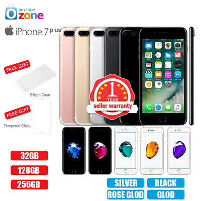 AU479.95 • Buy New Factory Unlocked APPLE IPhone 7+Plus 32GB 128GB 256GB 1Yr Warranty Colours