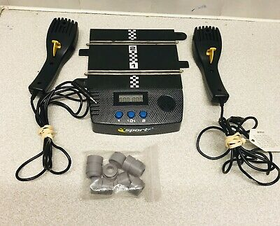 Scalextic Sport Track Battery Power Base With X2 Controllers • 9£