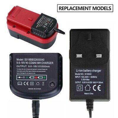 Charger For Black Decker 1.2V-18V A1712 A1718 A12 A18 Ni-MH Ni-CD Battery B6N9 • 14.12£