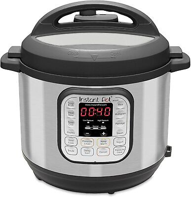 $69.99 • Buy Instant Pot DUO60 V3 6Qt 7-in-1 Multi-Use Programmable Pressure Cooker