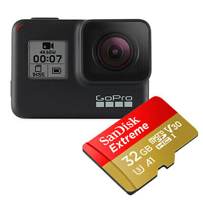 AU429 • Buy GoPro - CHDSB-701 - Hero7 Black With 32GB SD Card