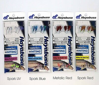 AU10.99 • Buy Hayabusa Whiting Rigs Twin Pac Free Postage Bulk Buy And Save