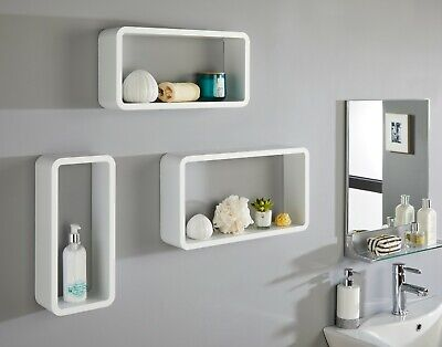White. Argos Home New Pagnell 3 Shelf Bookcase