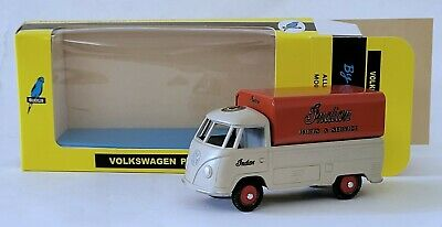 Budgie Diecast Models 204 T2 VW SINGLE CAB PICK UP 1:43 INDIAN MOTORCYCLE MIB • 27.50£