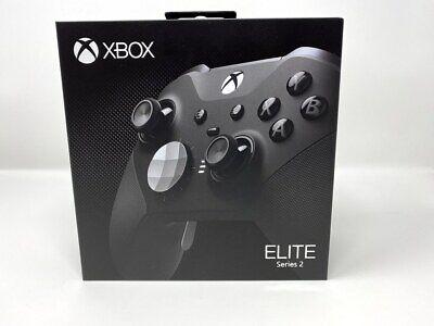 $249.99 • Buy Microsoft Xbox One Elite Series 2 Wireless Controller BLACK | SEALED IN BOX!