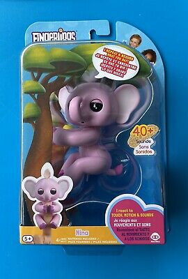 AU40.24 • Buy Fingerlings Baby Elephant Nina (Pink) - Interactive Toy By WowWee