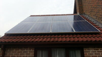 £1999 • Buy 3kw Solar Panel Kit Grid Tied  With Less Roof Space Needed