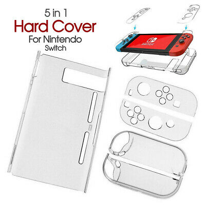 AU11.85 • Buy Transparent Clear Shockproof Protective Hard Case Cover For Nintendo Switch