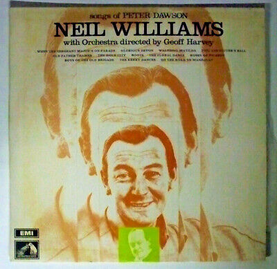 Songs Of Peter Dawson, Neil Williams And Geoff Harvey Orchestra - LP Record • 10.20£