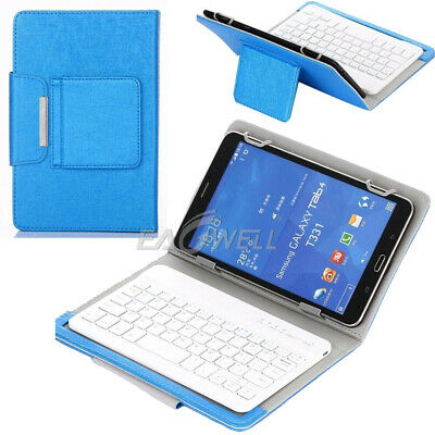 AU32.99 • Buy AU Blue For 7  8  10  10.1  Tablets Universal Leather Case Keyboard Stand Cover