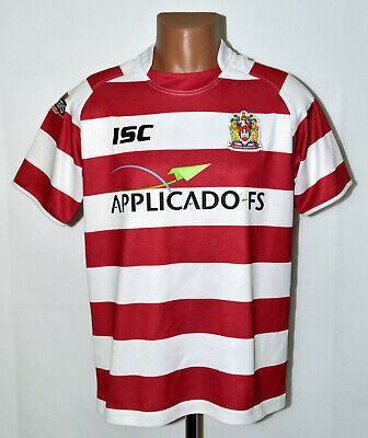 £24.99 • Buy Wigan Warriors Rugby League Shirt Jersey Isc Size M Adult
