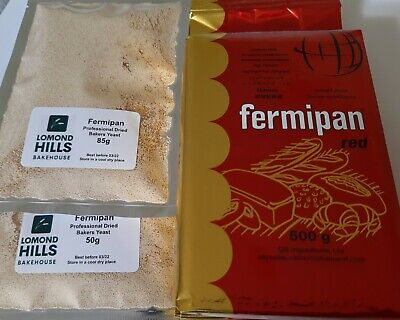 Fermipan INSTANT Dried Yeast For Bakers Bread Vegan Same Day Post 1st Class • 6.95£
