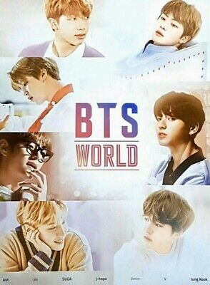 $9.99 • Buy BTS WORLD OST Official Unfolded Poster