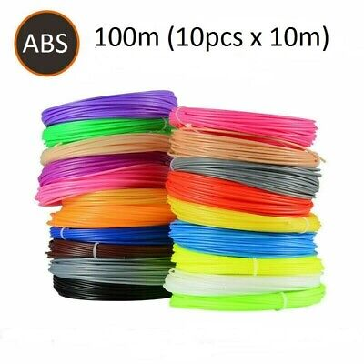 AU14.95 • Buy  10 Colors 100m 3D Printing Pen Filament ABS 1.75mm