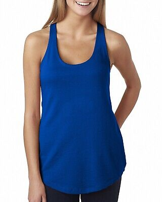 £3.98 • Buy Next Level Ladies' French Terry Racerback Tanks STOCK CLEARANCE!!